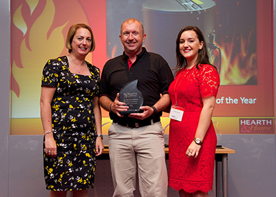 Draftbooster winning hearth & home award 2016